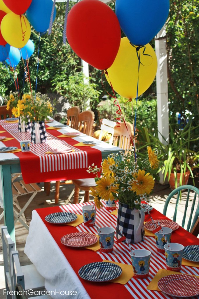 Madeline Birthday Party French Garden House