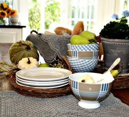 Dress Your Table for Fall