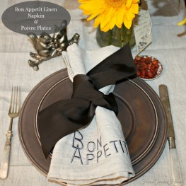 For the Love of Linen Napkins