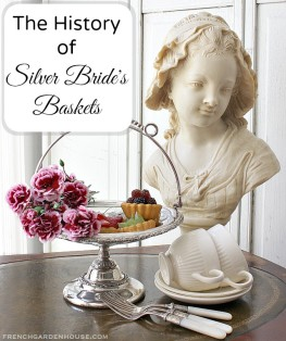 Guest Post for Phyllis Hoffman DePiano: History of Antique Silver Bridesbaskets