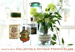 Whats New: French Antique Glass
