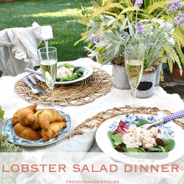 FrenchGardenHouse Lobster Salad: What to Make for a Summer Dinner