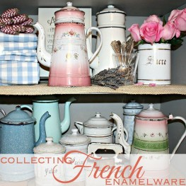 Antiques: Collecting Antique French Enamelware