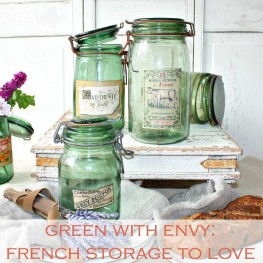 What's New: French Country: Green with Envy