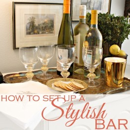 How to Set up a Stylish Bar