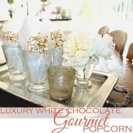 Luxury White Chocolate Pumpkin Gourmet Popcorn