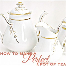 How to Make the Perfect Pot of Tea