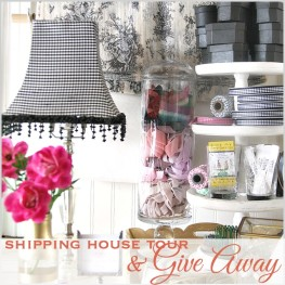 Shipping House Tour| bHome Giveaway