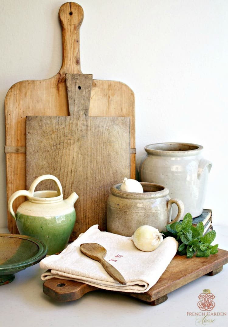 french country culinary antiques