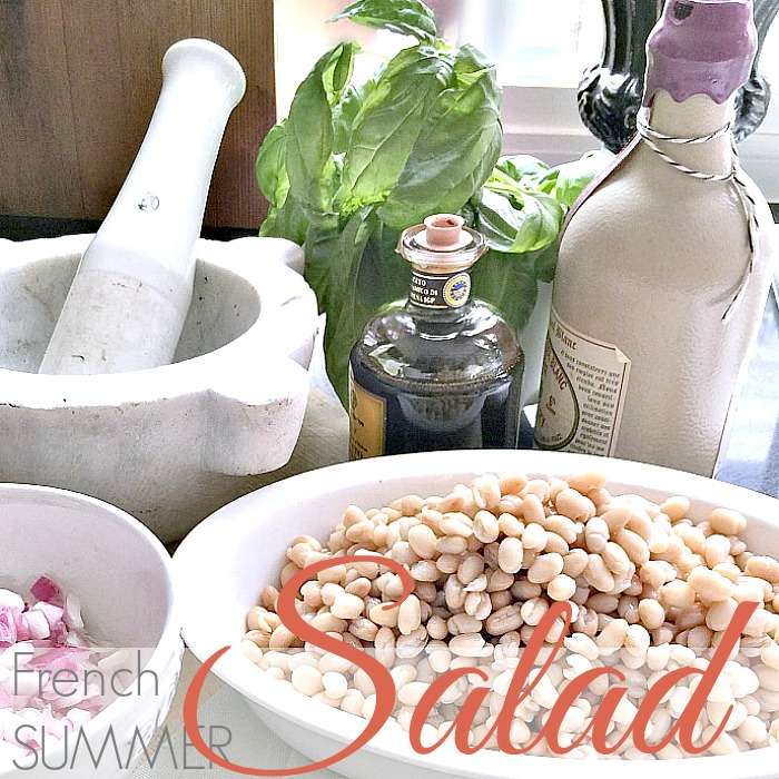 FRENCH COUNTRY SUMMER SALAD