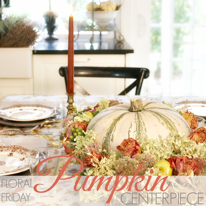 FLORAL FRIDAY | PUMPKIN ARRANGEMENT
