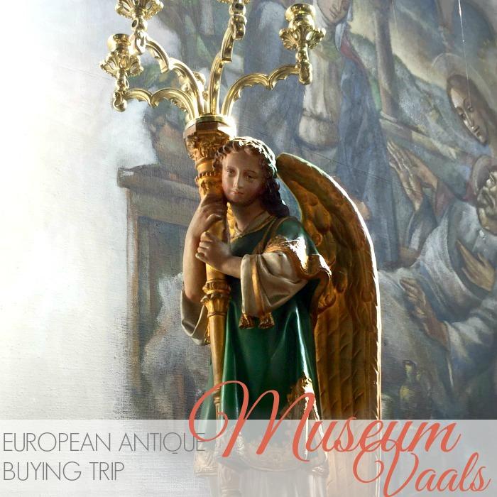 EUROPEAN ANTIQUES BUYING TRIP | RELIGIOUS MUSEUM VAALS