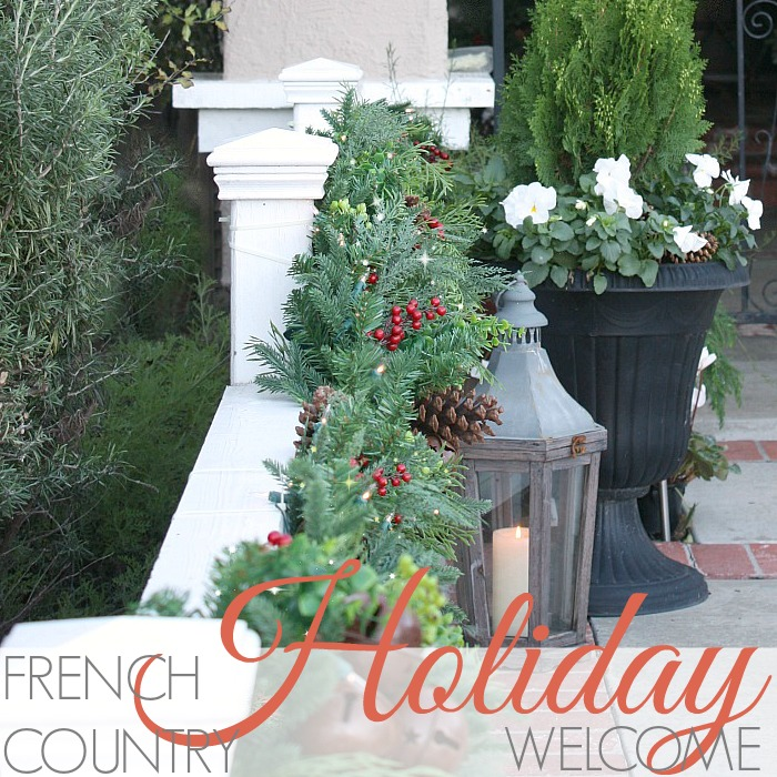 FRENCH COUNTRY HOLIDAY WELCOME