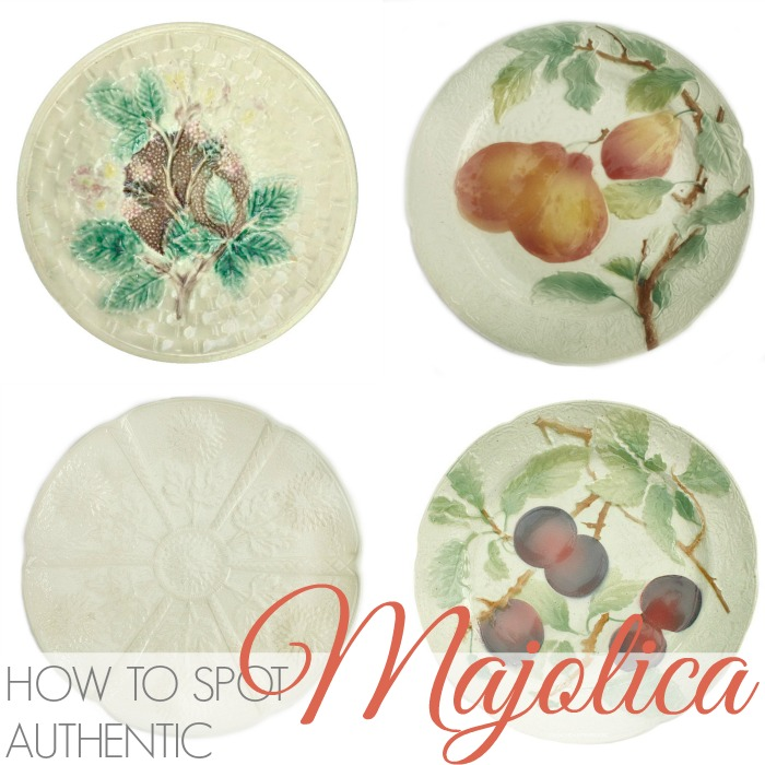 HOW TO SPOT AUTHENTIC MAJOLICA