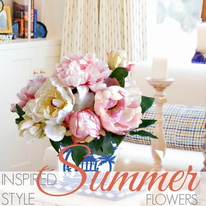 INSPIRED STYLE | SUMMER FLOWERS