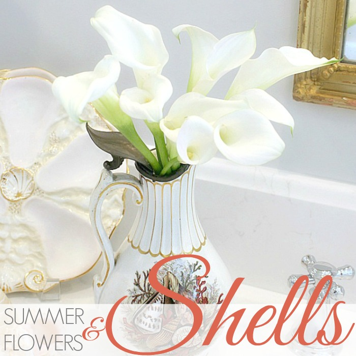 SUMMER FLOWERS AND SHELLS