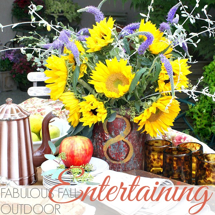 FABULOUS FALL OUTDOOR ENTERTAINING