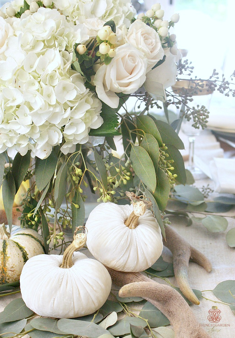 Set a Golden Harvest Fall Table