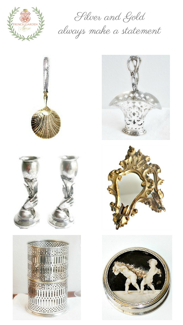 unique silver and gold gifts
