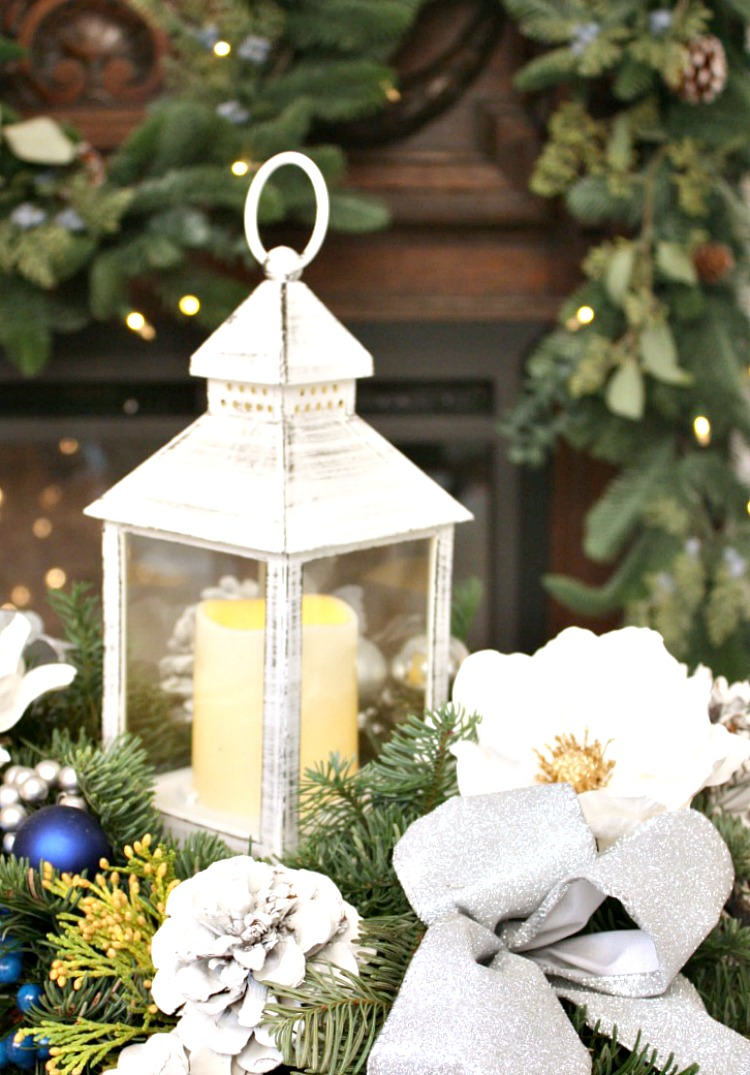 French Winter Holiday Decor in the Bedroom &  Give Away