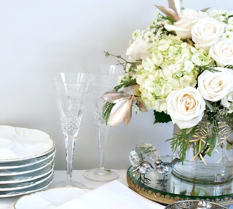 Pretty Winter Flowers with a French Twist