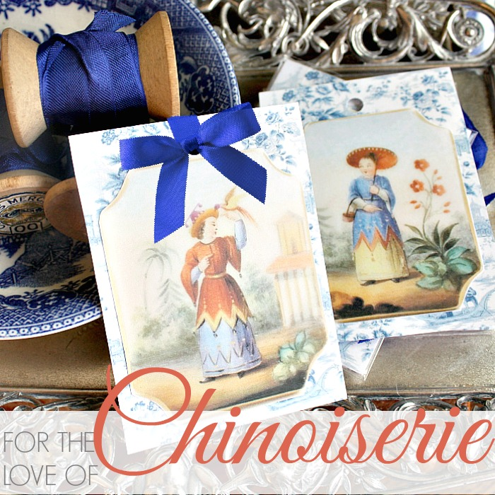 FOR THE LOVE OF CHINOISERIE