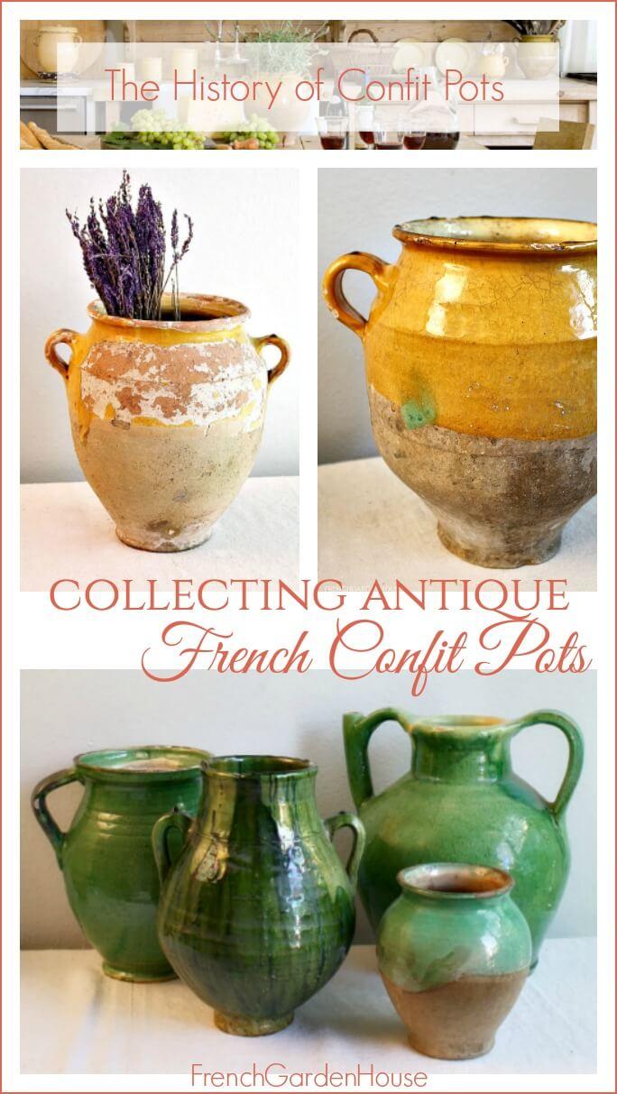 the history of confit pots