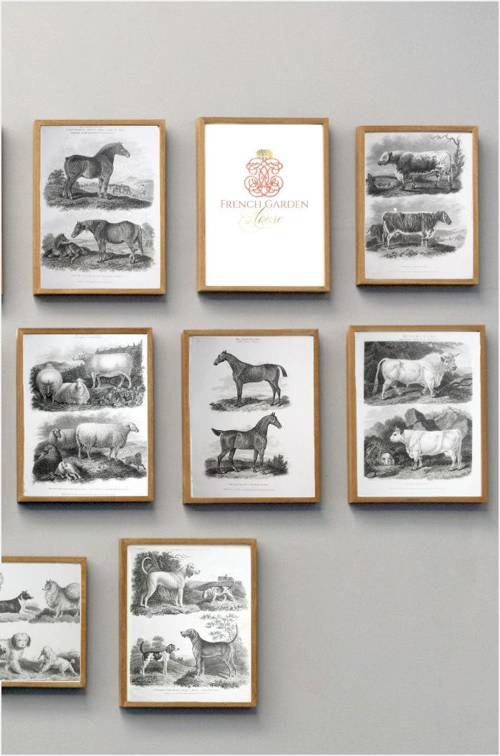 antique etchings