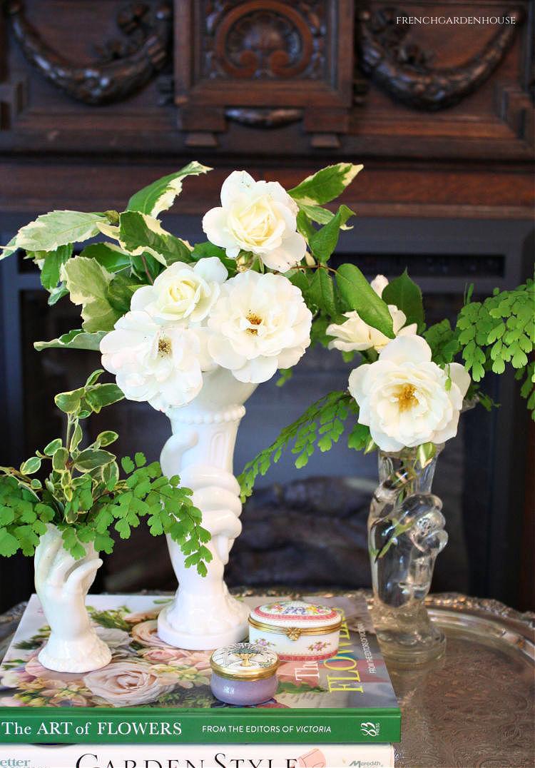 An Elegant Simple White Flower Arrangement