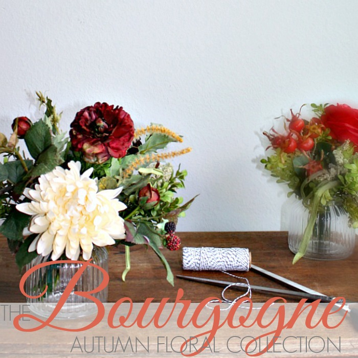 THE BOURGOGNE AUTUMN FLORAL COLLECTION