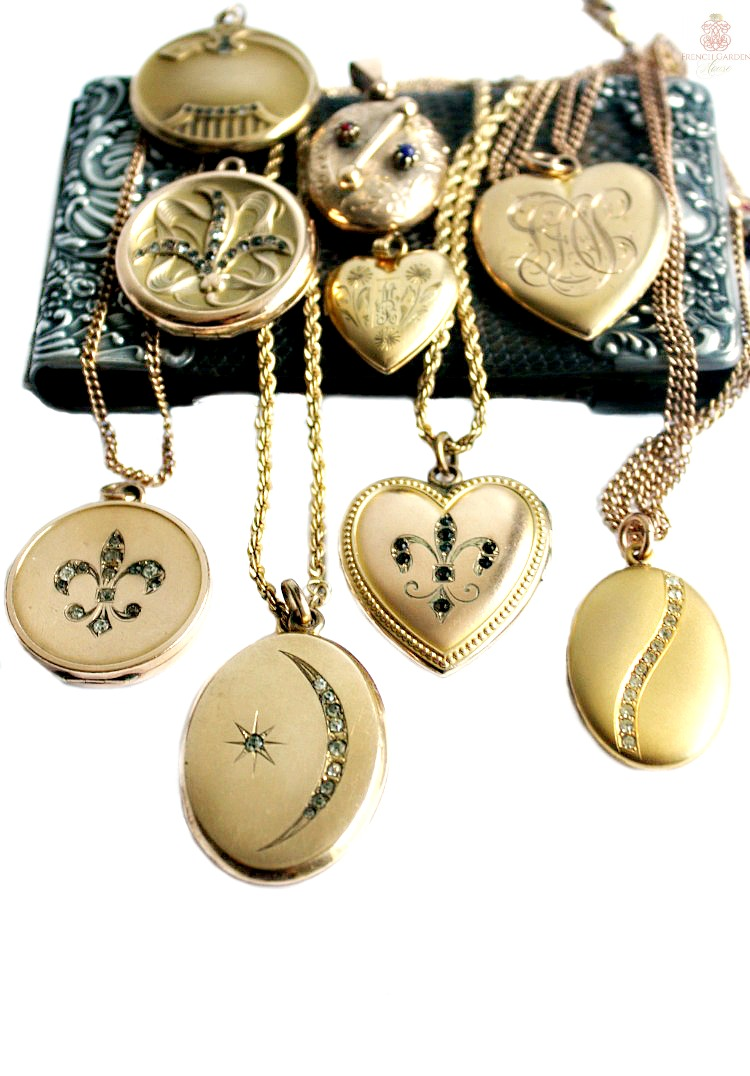 How to personalize antique lockets to tell your story.