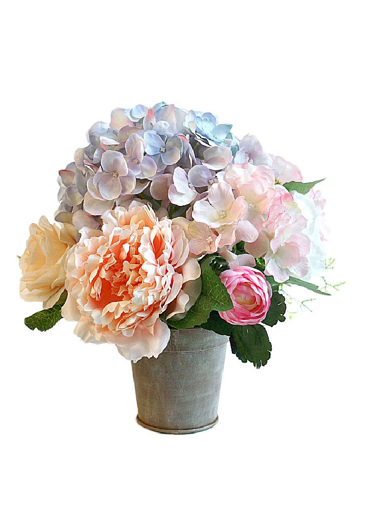 soft luxury faux flowers