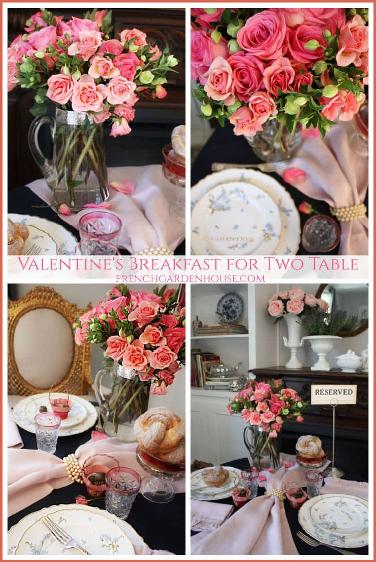 Pinterest Valentines table for two
