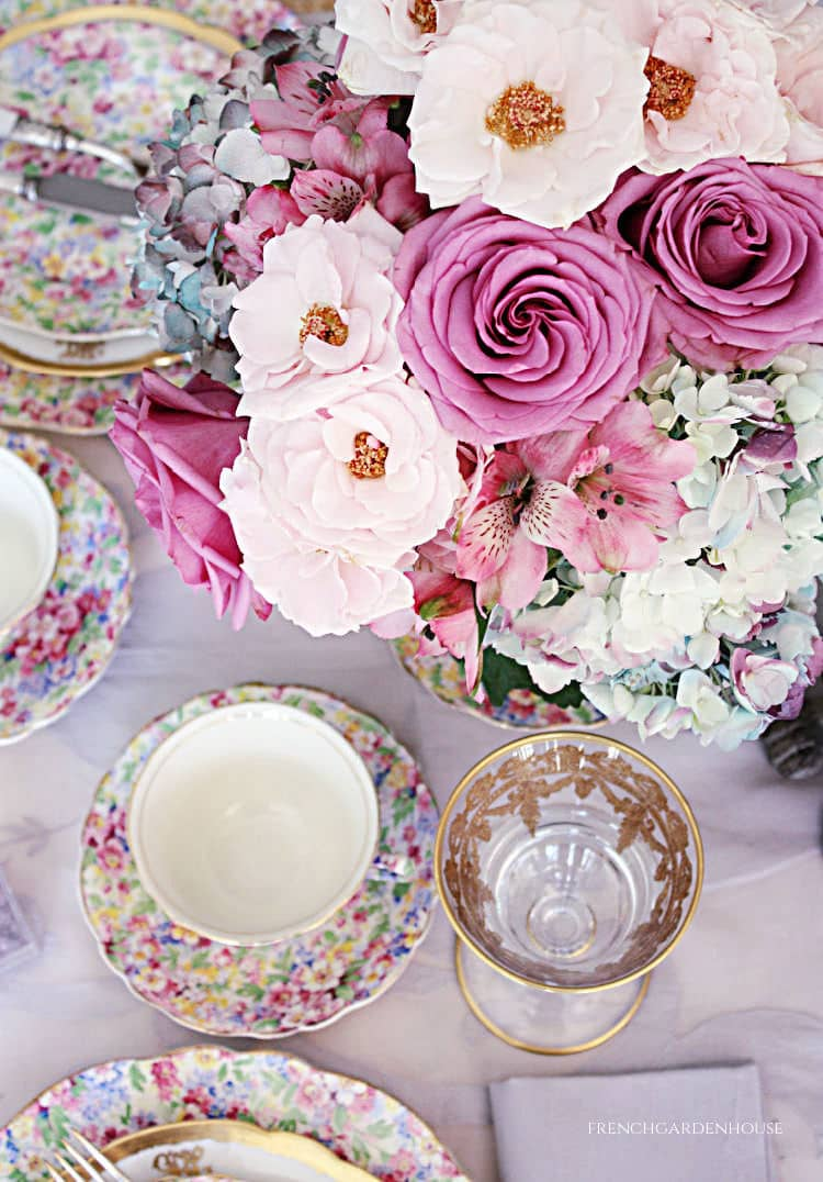 Set an Easter Table Filled with Blooms