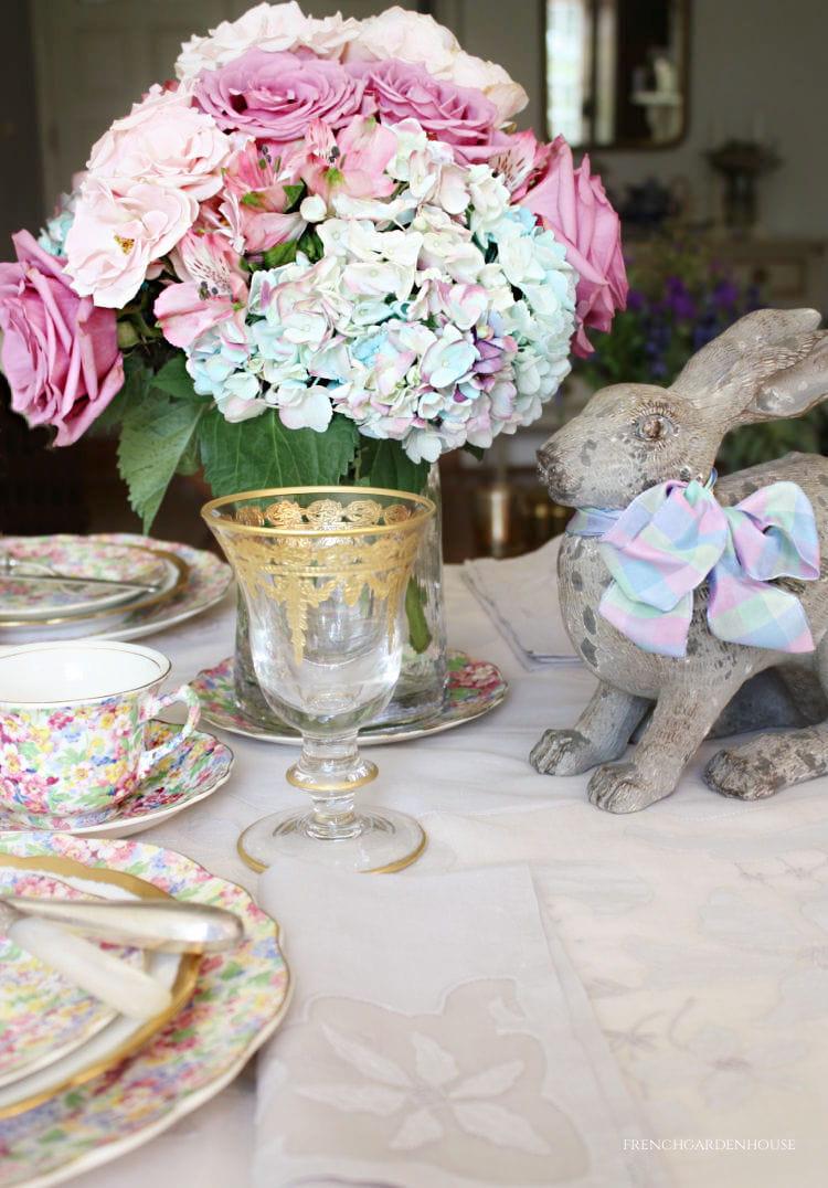 Easter tablesetting