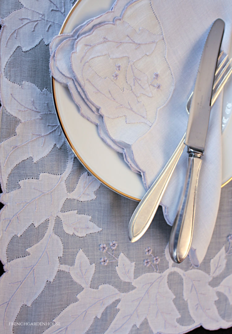 Madeira Embroidered Linens