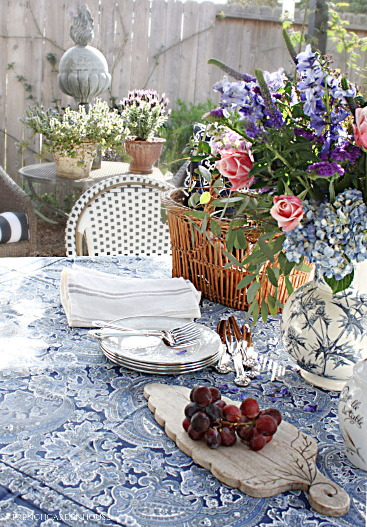 spring French country table