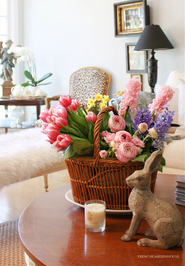 french spring florals