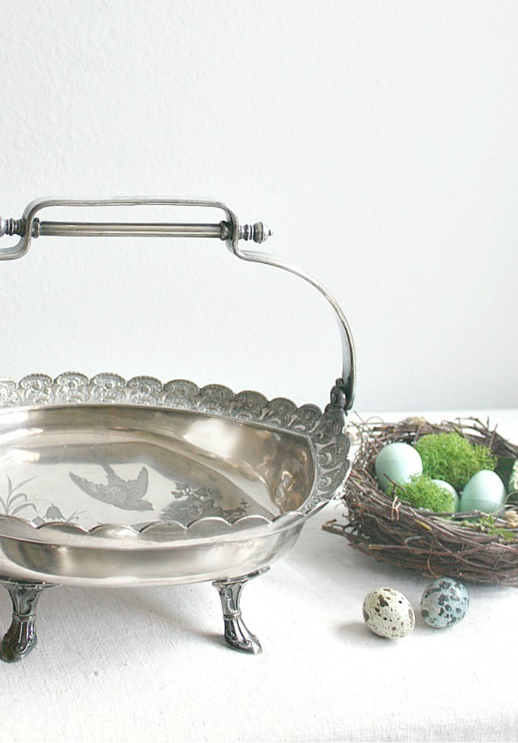 Antique silver-basket-with-birds