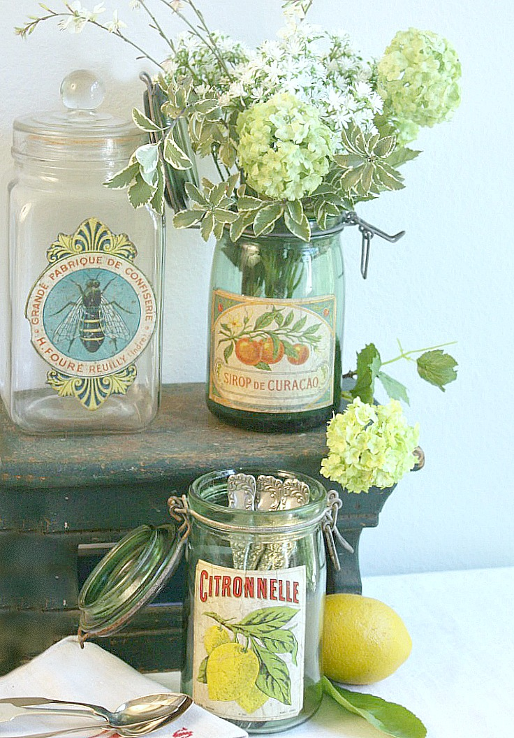 Collecting Vintage French Canning Jars