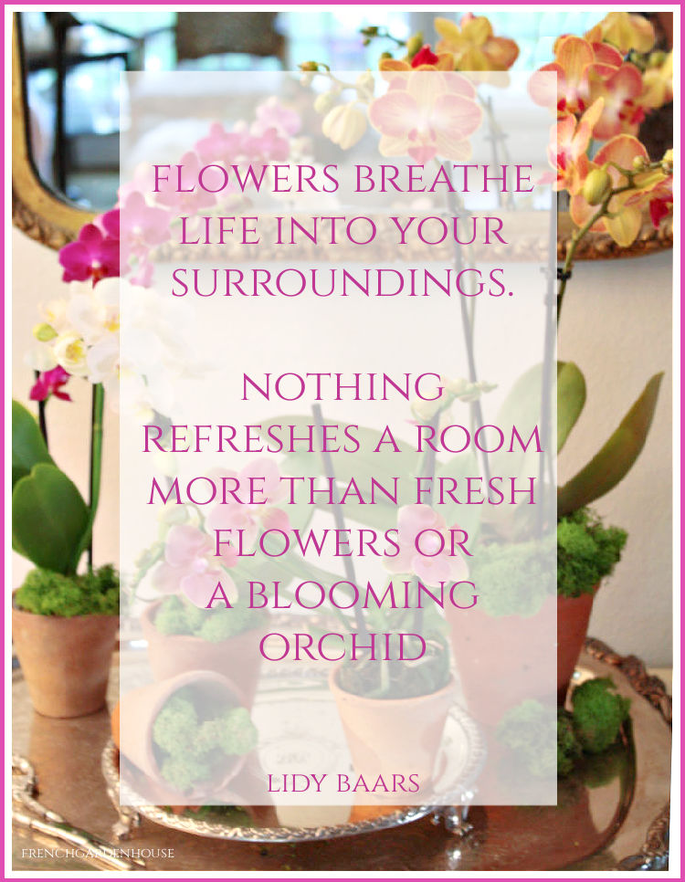 floral quote