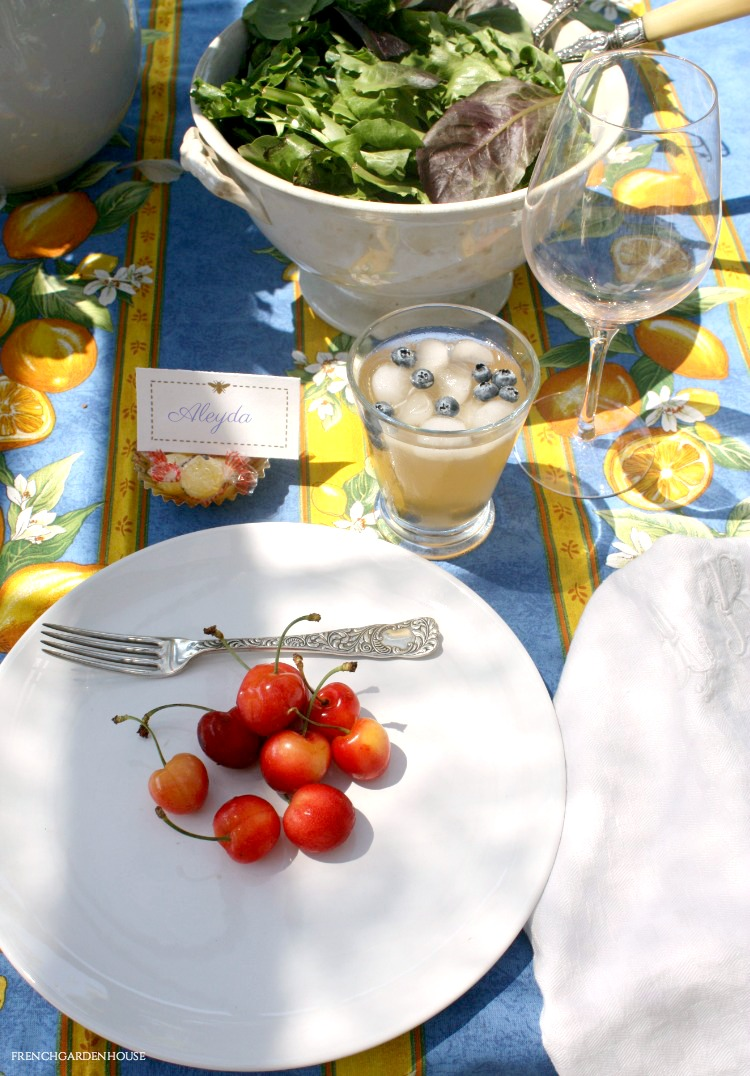french summer table