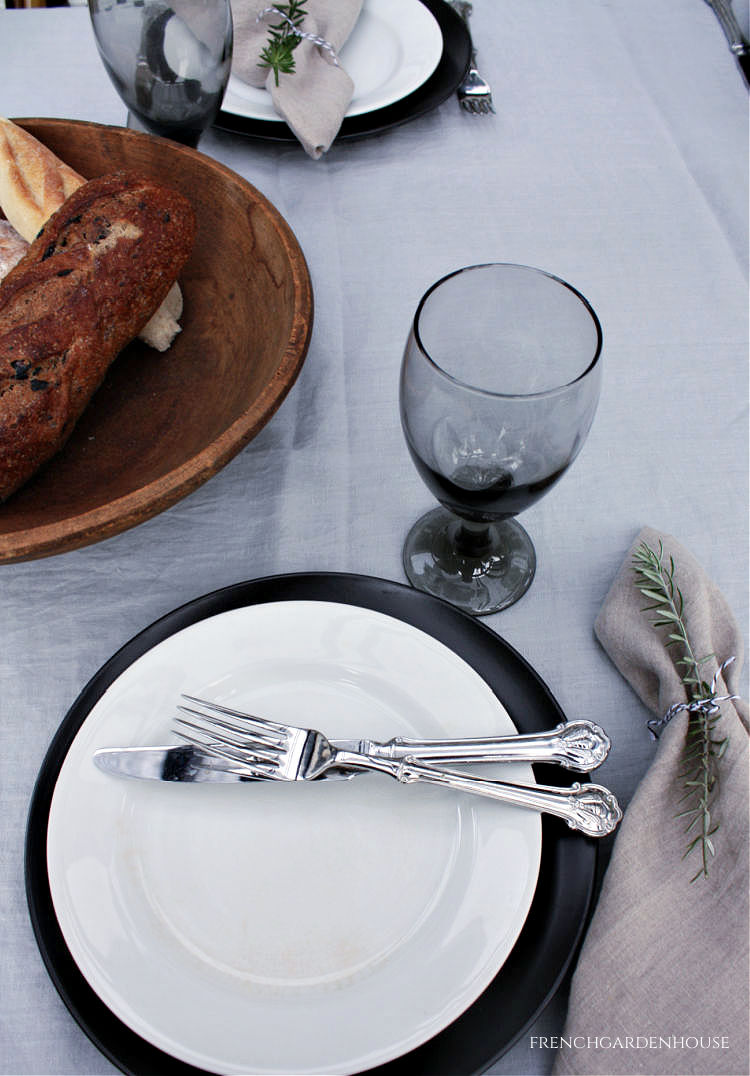 French summer Tablesetting
