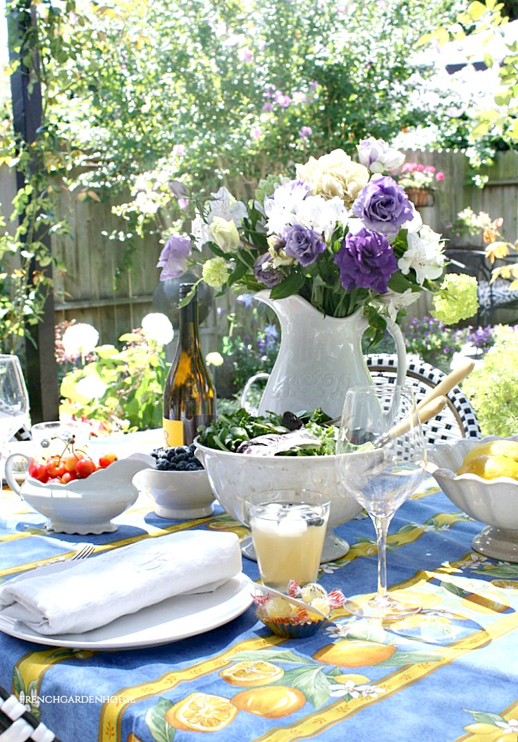 Summer Entertaining French Style