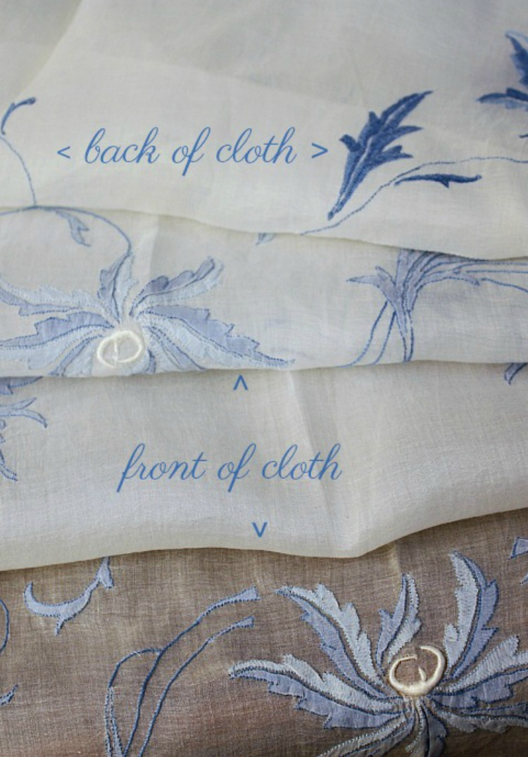 Collecting Antique and Vintage Madeira Linens