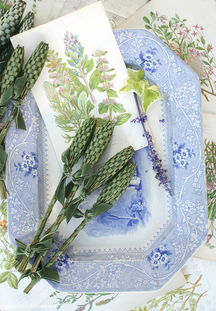 lavender wands for the home