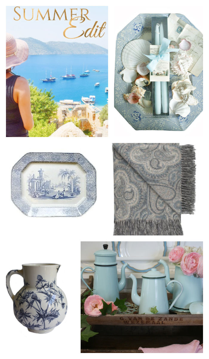 French summer gift and home edit