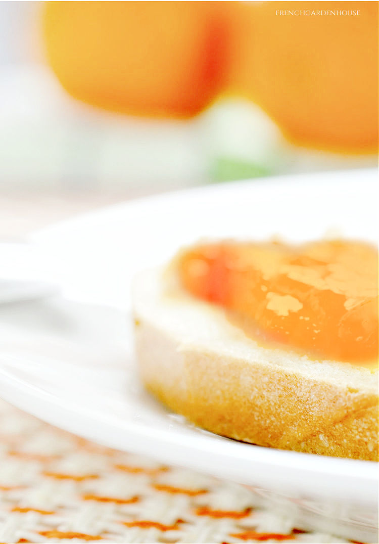 bread and French marmalade