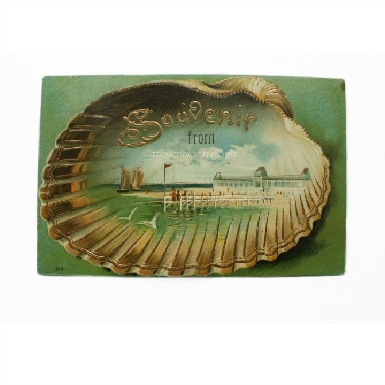 Antique shell card