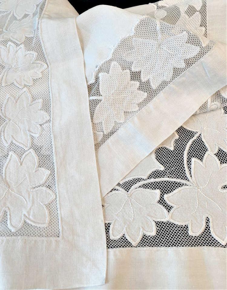 Antique Tablecloths & Table Linens